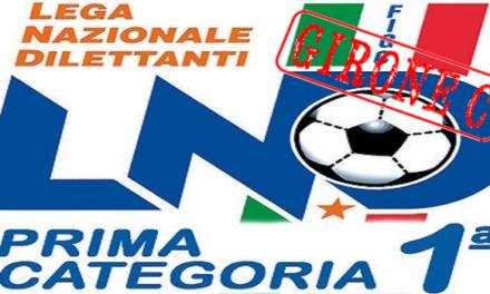 DIRETTA LIVE Prima Categoria Girone C – 15^ giornata: tutte le formazioni, i marcatori e la classifica