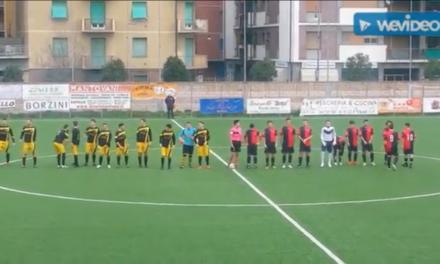 VIDEOSINTESI: BORGORAPALLLO-CORNIA 2-3. Categoria 2ª Girone E