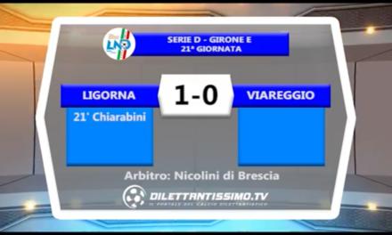 VIDEO: LIGORNA-VIAREGGIO 1-0. Serie D Girone E