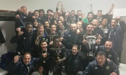 Il Valdivara 5 Terre alza la Coppa Italia, Bertuccelli e Ortelli mandano ko la Rivarolese