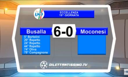 VIDEO Eccellenza – 19a giornata: Gli highlights di Busalla-Moconesi 6-0