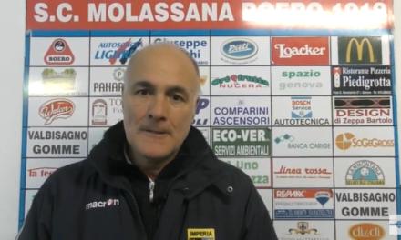 VIDEO Molassana-Imperia 1-3: Le interviste post partita