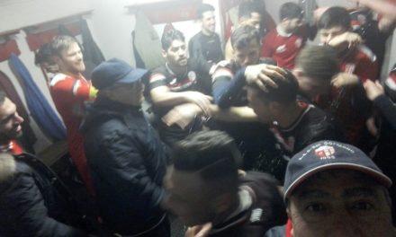 Dedica speciale per la vittoria del San Gottardo: «Al nostro presidente e a Danilo che da lassù…»