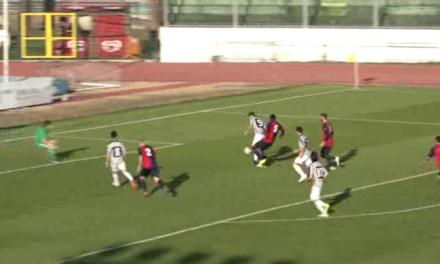 VIDEO – Fallo in area su Vanni e Guidi trasforma dal dischetto: ecco il gol vittoria del Viareggio contro il Sestri
