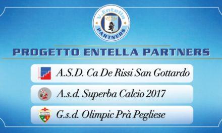 """Ca de Rissi San Gottardo, Olimpic Pra' Pegliese e Superba entrano a far parte del progetto """"Entella Partners"""""""