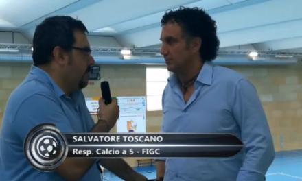 VIDEO Intervista a Salvatore Toscano, responsabile Calcio a 5 della Figc Liguria