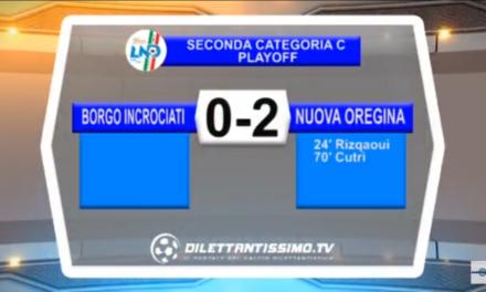Seconda Categoria – Playoff: Gli highlights della finale fra Borgo Incrociati e Nuova Oregina