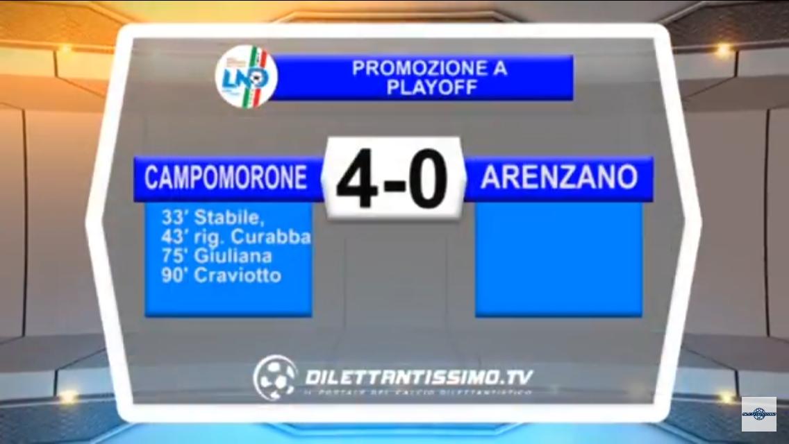 Promozione A – Playoff: Gli highlights della sfida fra Campomorone S.O. e Arenzano