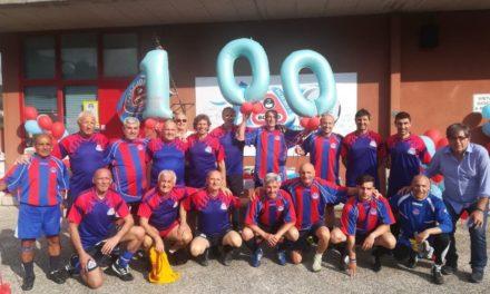 Cento di questi giorni, Molassana! Festa grande ieri al Ca de Rissi per il centenario rossazzurro