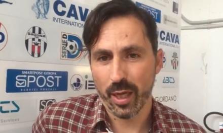 VIDEO – Alessandro Grandoni: «Convinto dalla piazza e dalla volontà del Savona di far le cose per bene»