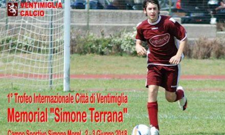 """Domani e domenica via al 1° Memorial """"Simone Terrana"""" al Morel di Ventimiglia"""