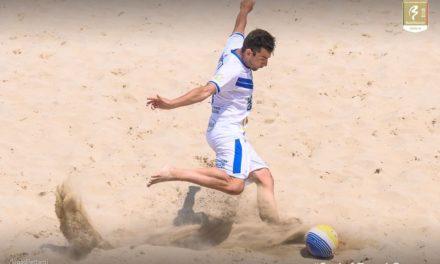 Sabbia bollente per la Serie A di Beach Soccer: mamma mia che gol del Killer Rossetti!