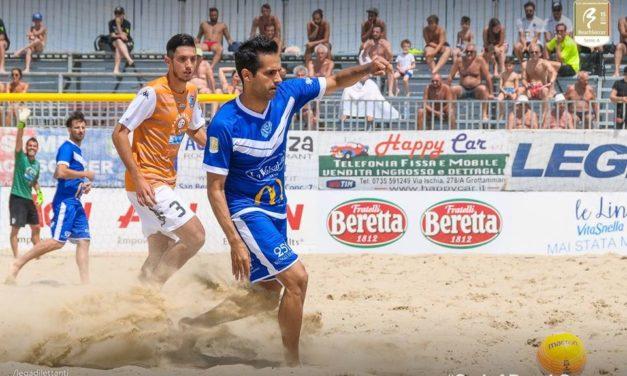 Serie A di Beach Soccer: buona la prima per il Brescia dei tre moschettieri genovesi Memoli, Rossetti e Oliviero