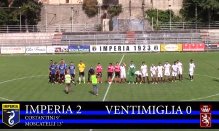 VIDEOSINTESI: IMPERIA VENTIMIGLIA 2-0
