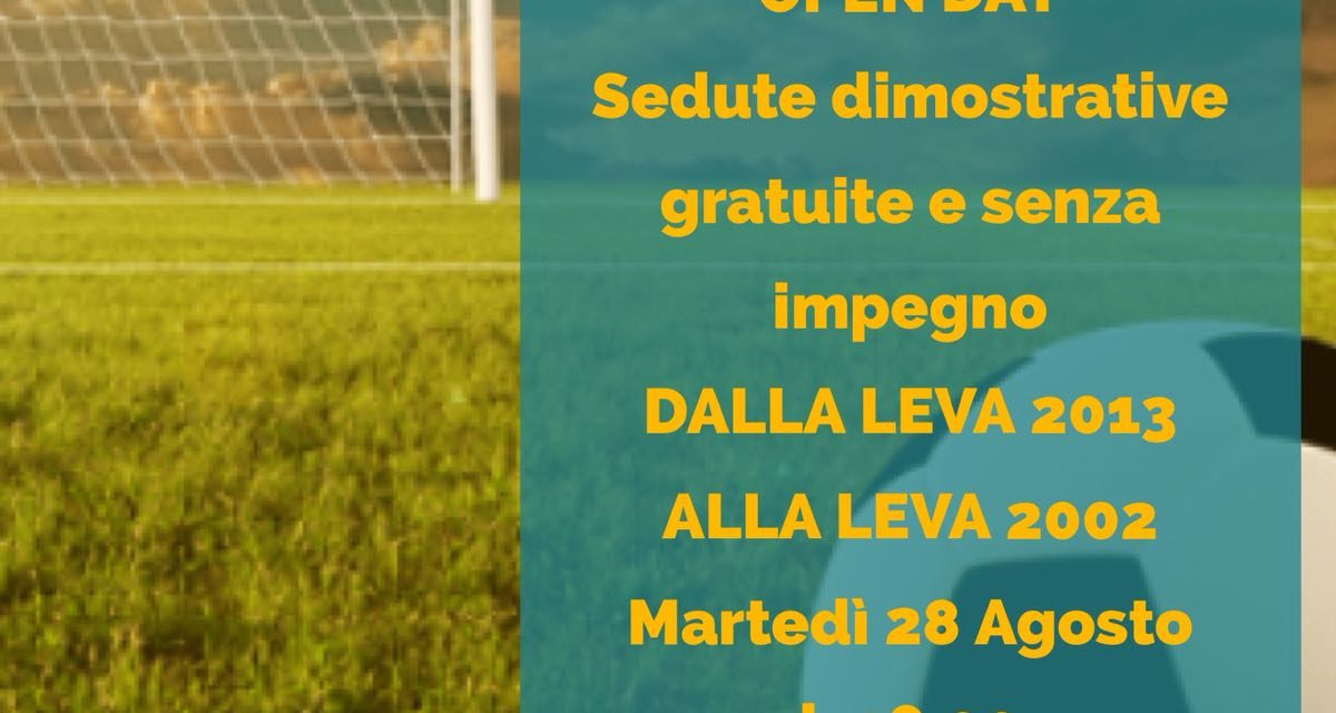 """Gli Open Day del Progetto Atletico: tutti in campo il 28 e 30 agosto al """"Cige"""""""