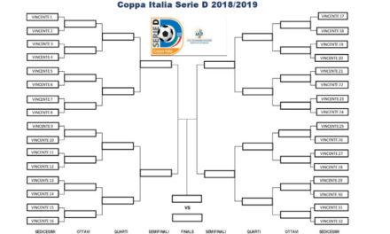 Coppa Italia di Serie D: gli accoppiamenti dei 32esimi e il tabellone fino alla finalissima