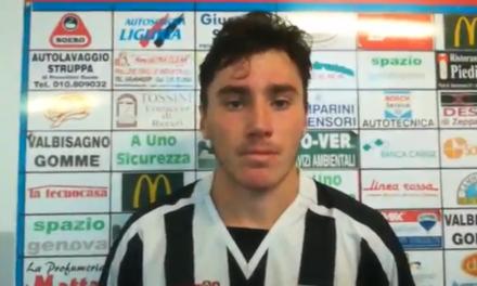 VIDEO – L'Albenga fa bottino pieno contro il Molassana: il commento di Farinazzo, al primo gol della stagione