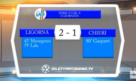 VIDEO – SERIE D: Ligorna, continua il magic moment: contro il Chieri è 2-1