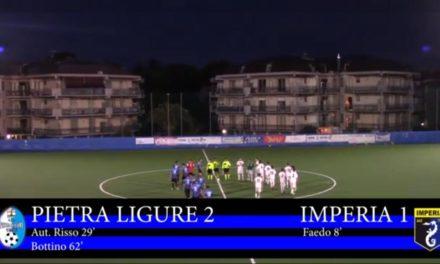 VIDEO – La sintesi di Pietra Ligure-Imperia 2-1
