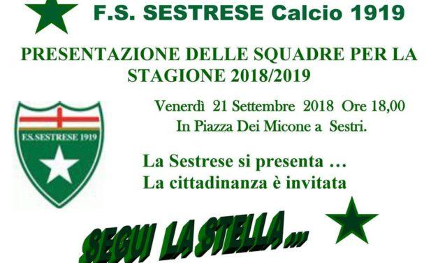 Qui Sestrese, venerdì 21 settembre la presentazione ufficiale in piazza a Sestri