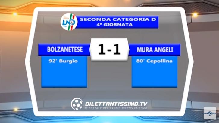 VIDEO – SECONDA D: Il servizio Tv di Bolzanetese-Mura Angeli 1-1