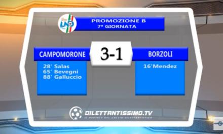 VIDEO – Promo B: Il servizio di Campomorone-Borzoli 3-1