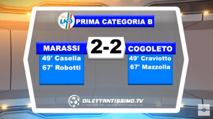 VIDEO – PRIMA C: Il servizio Tv di Marassi-Cogoleto 2-2