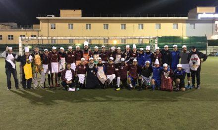 Don Bosco: prima squadra e Juniores ai fornelli per la Scuola Calcio