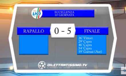 VIDEO – Eccellenza: Il servizio di Rapallo-Finale 0-5