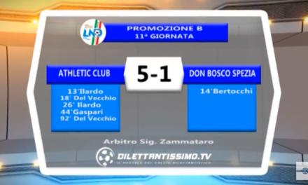 VIDEO – Promozione B: Il servizio di Athletic Club-Don Bosco Spezia 5-1