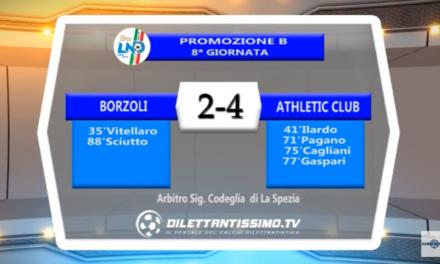 VIDEO – PROMO B: Il servizio di Borzoli-Athletic Club 2-4