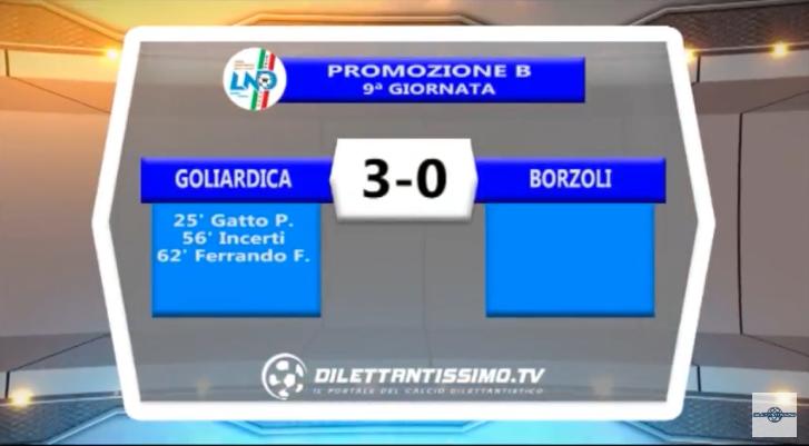 VIDEO – Promozione B: Il servizio di Goliardica-Borzoli 3-0
