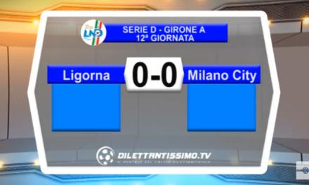 VIDEO – Serie D: Il servizio di Ligorna-Milano City 0-0