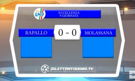 VIDEO – Eccellenza: Il servizio di Rapallo-Molassana 0-0
