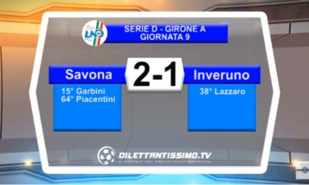 VIDEO – Il servizio di Savona-Inveruno 2-1
