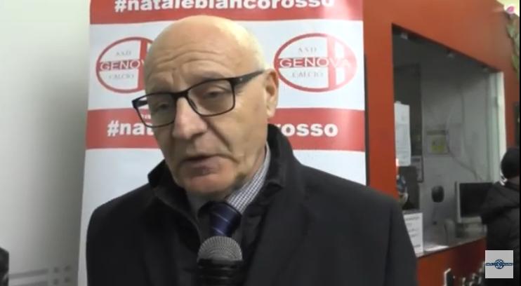 VIDEO – Buone feste dal presidente della FIGC Liguria Giulio Ivaldi