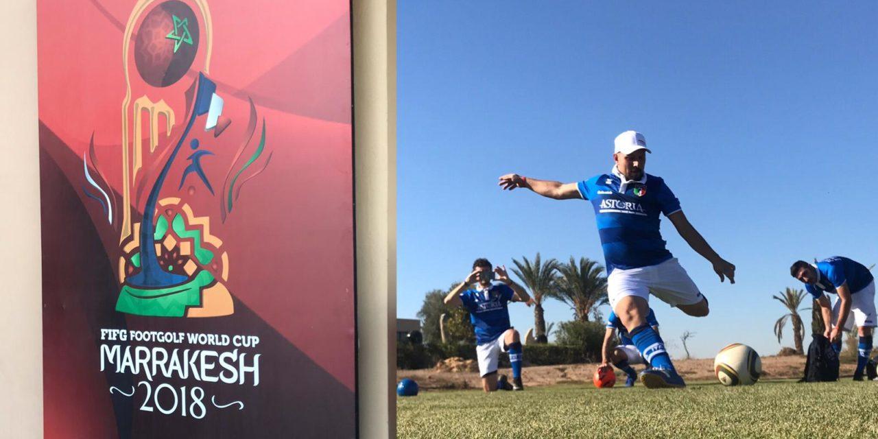 Mondiali di Footgolf – Marrakesh 2018. Roberto Puliga parte bene: dopo la prima giornata è nei Top100