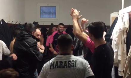 MARASSI-COGORNESE: l'intervista a Ghiglia e la festa nello spogliatoio