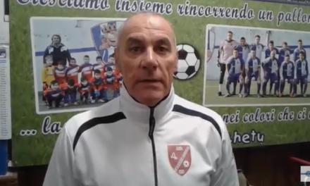 VIDEO. Francesco D'Amelio commenta il pareggio in extremis del suo Casarza sul Campomorone Sant'Olcese