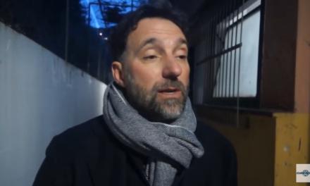 VIDEO. Mister Delfino non ci sta: «L'Albenga non cerca favori ma solo arbitraggi corretti»