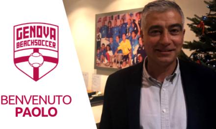 Paolo Covotta entra a far parte della Genova Beach Soccer