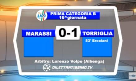 VIDEO – Prima B: Il servizio di Marassi-Torriglia 0-1
