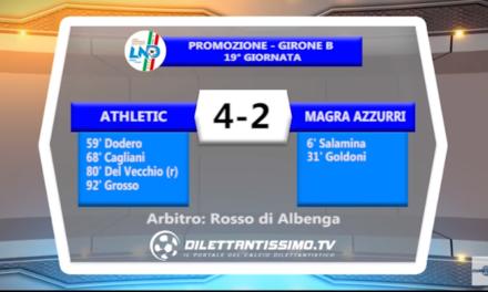 VIDEO – Promo B: Il servizio di Athletic Club-Magra Azzurri 4-2