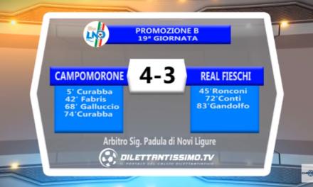 VIDEO – Promo B: Il servizio di Campomorone S.O. – Real Fieschi 4-3