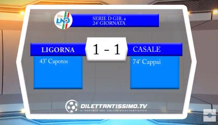 VIDEO – Serie D: Il servizio di Ligorna-Casale 1-1