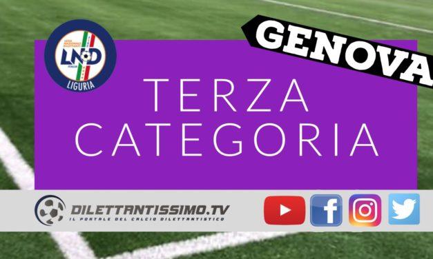 DIRETTA LIVE – TERZA CATEGORIA, 15ª GIORNATA