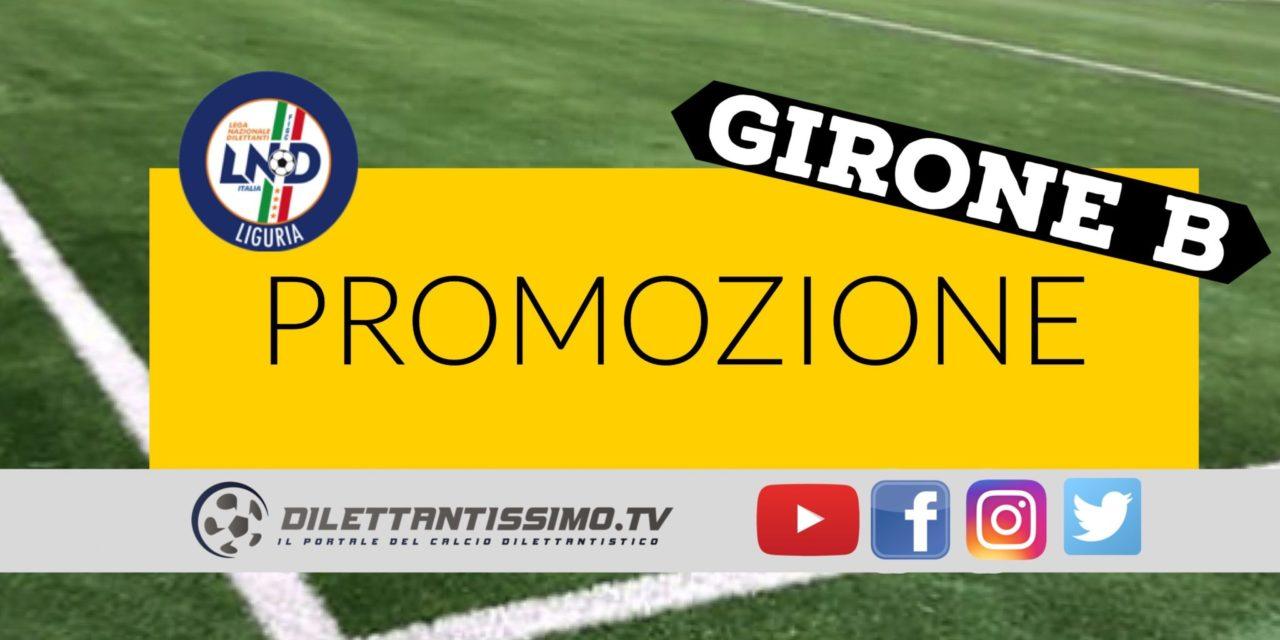 DIRETTA LIVE – PROMOZIONE B: marcatori e risultati della 7ª giornata