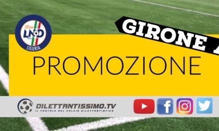 DIRETTA LIVE – Promozione A: marcatori e risultati della partita                                           VELOCE – TAGGIA