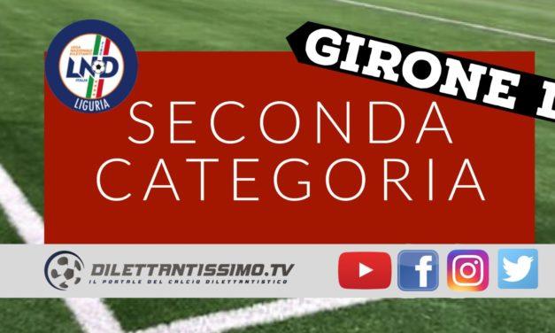 DIRETTA LIVE – SECONDA CATEGORIA D, 20ª giornata