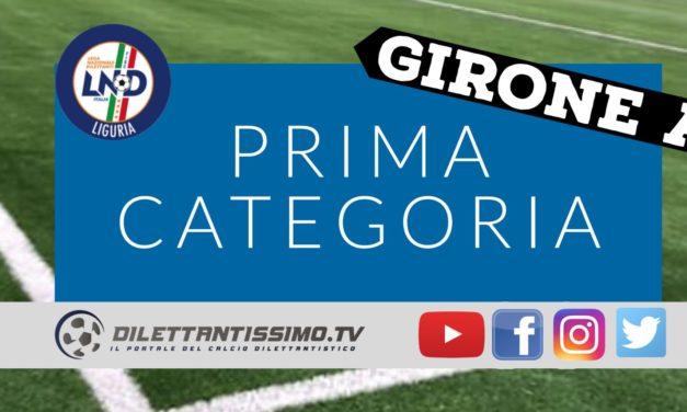 DIRETTA LIVE – PRIMA CATEGORIA A, 18ª giornata